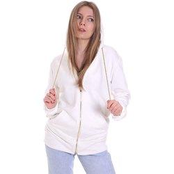 Kleidung Damen Sweatshirts Cristinaeffe 4963 Weiß