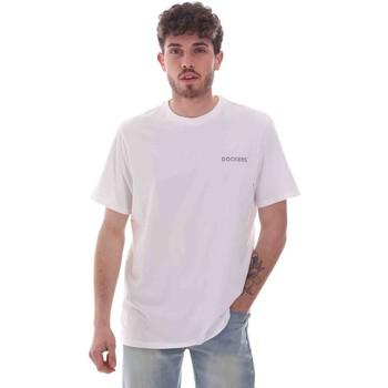 Kleidung Herren T-Shirts Dockers 27406-0115 Weiß