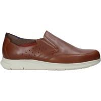 Schuhe Herren Slip on Rogers 2700 Braun
