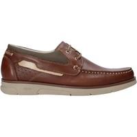 Schuhe Herren Bootsschuhe Rogers 2871-ESC Braun
