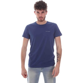 Kleidung Herren T-Shirts Key Up 2G69S 0001 Blau