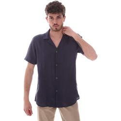 Kleidung Herren Kurzärmelige Hemden Sseinse CE588SS Blau