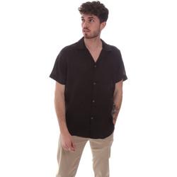 Kleidung Herren Kurzärmelige Hemden Sseinse CE588SS Schwarz
