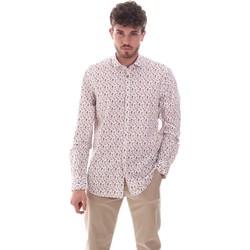 Kleidung Herren Langärmelige Hemden Sseinse CE620SS Weiß