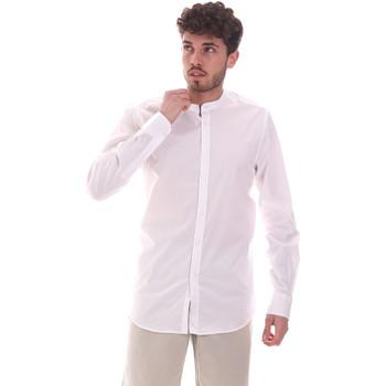 Kleidung Herren Langärmelige Hemden Sseinse CE639SS Weiß