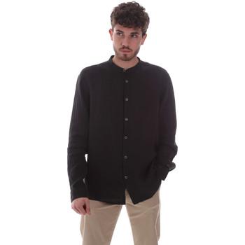 Kleidung Herren Langärmelige Hemden Sseinse CE643SS Schwarz