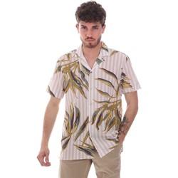 Kleidung Herren Kurzärmelige Hemden Sseinse CE661SS Beige