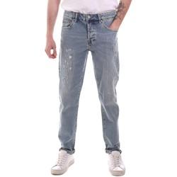 Kleidung Herren Straight Leg Jeans Sseinse PJE764SS Blau
