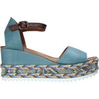 Schuhe Damen Sandalen / Sandaletten Bueno Shoes 21WQ6000 Blau