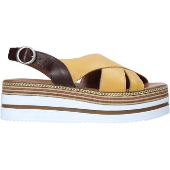 Schuhe Damen Sandalen / Sandaletten Bueno Shoes 21WS5704 Gelb