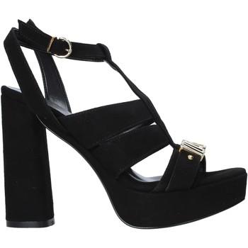 Schuhe Damen Sandalen / Sandaletten Alviero Martini E128 8058 Schwarz