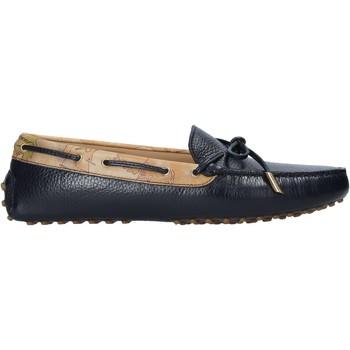 Schuhe Damen Slipper Alviero Martini P737 587A Schwarz