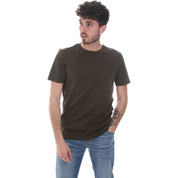 Kleidung Herren T-Shirts Antony Morato MMKS02023 FA100229 Grün
