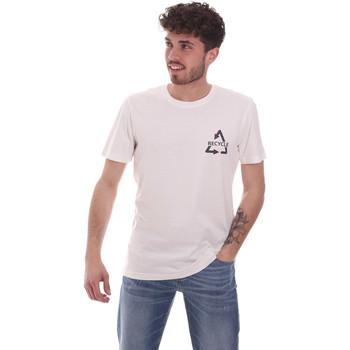Kleidung Herren T-Shirts Antony Morato MMKS02005 FA100144 Weiß