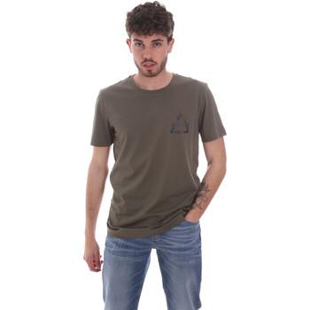 Kleidung Herren T-Shirts Antony Morato MMKS02005 FA100144 Grün