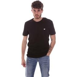 Kleidung Herren T-Shirts Antony Morato MMKS01924 FA100144 Schwarz