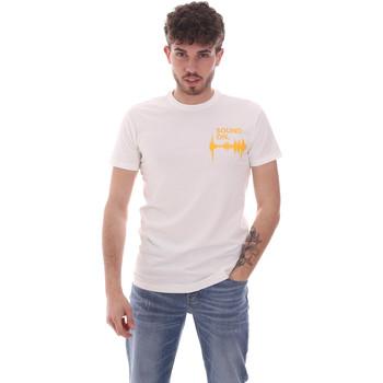 Kleidung Herren T-Shirts Antony Morato MMKS02002 FA120001 Weiß