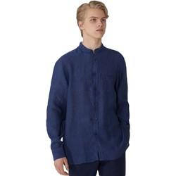 Kleidung Herren Langärmelige Hemden Trussardi 52C00154-1T002248 Blau