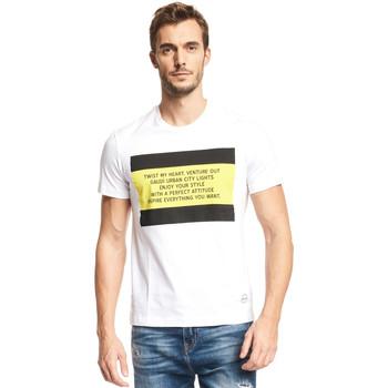Kleidung Herren T-Shirts Gaudi 111GU64071 Weiß