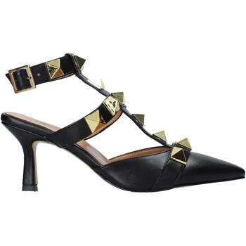 Schuhe Damen Sandalen / Sandaletten Grace Shoes 396007 Schwarz