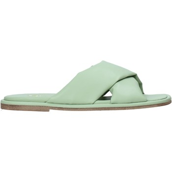 Schuhe Damen Pantoffel Grace Shoes 372002 Grün