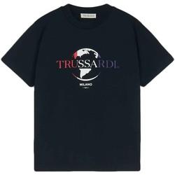 Kleidung Herren T-Shirts Trussardi 52T00443-1T005227 Schwarz