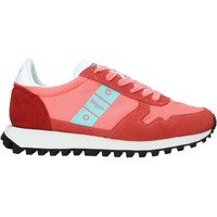 Schuhe Damen Sneaker Low Blauer S1MERRILL01/NYS Rot