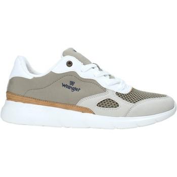 Schuhe Herren Sneaker Low Wrangler WM11050A Grün