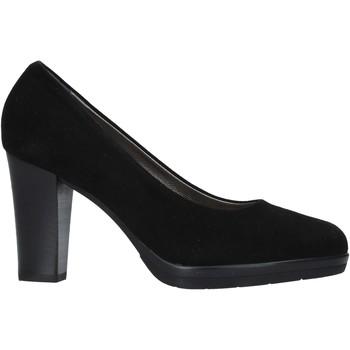 Schuhe Damen Pumps Confort 16I5860 Schwarz