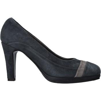 Schuhe Damen Pumps Confort 3660 Blau