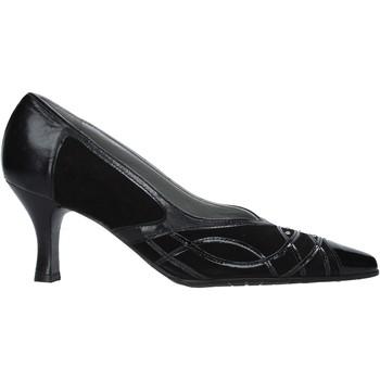 Schuhe Damen Pumps Confort 6326 Schwarz