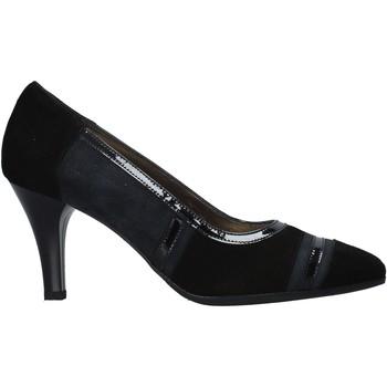 Schuhe Damen Pumps Confort 16I1007 Schwarz