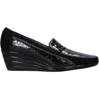 Schuhe Damen Slipper Confort 3781 Schwarz