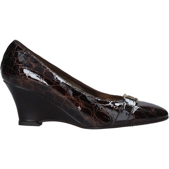 Schuhe Damen Pumps Confort 7558 Braun