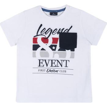 Kleidung Kinder T-Shirts Chicco 09067252000000 Weiß