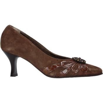 Schuhe Damen Pumps Confort 6260 Braun