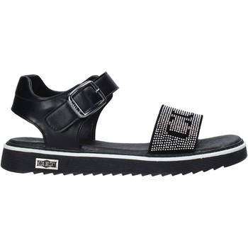 Schuhe Mädchen Sandalen / Sandaletten Cult STONE1 Schwarz