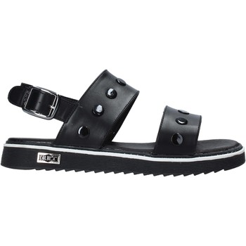 Schuhe Mädchen Sandalen / Sandaletten Cult PLATE1 Schwarz