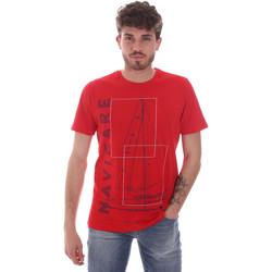Kleidung Herren T-Shirts Navigare NV31109 Rot