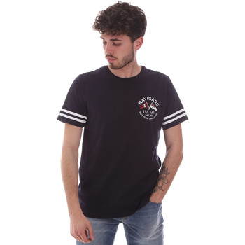 Kleidung Herren T-Shirts Navigare NV31123 Blau