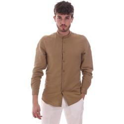 Kleidung Herren Langärmelige Hemden Antony Morato MMSL00631 FA400074 Beige