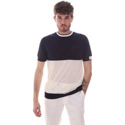 Kleidung Herren T-Shirts Antony Morato MMSW01166 YA100062 Blau