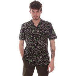 Kleidung Herren Kurzärmelige Hemden Antony Morato MMSS00168 FA430474 Schwarz