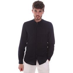 Kleidung Herren Langärmelige Hemden Antony Morato MMSL00631 FA400074 Blau
