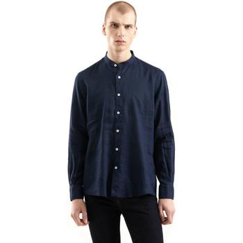 Kleidung Herren Langärmelige Hemden Refrigiwear RM0C10100LI9110 Blau