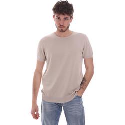Kleidung Herren T-Shirts Gaudi 111GU53004 Beige