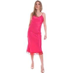 Kleidung Damen Kurze Kleider Cristinaeffe 0731 2475 Rosa