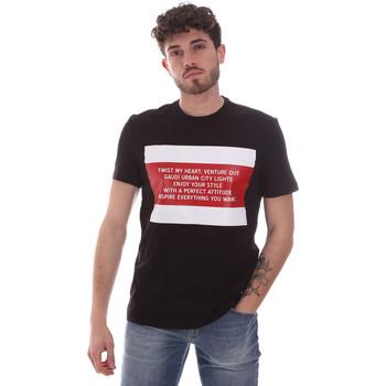 Kleidung Herren T-Shirts Gaudi 111GU64071 Schwarz