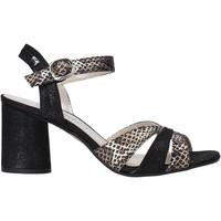 Schuhe Damen Sandalen / Sandaletten Valleverde 28270 Schwarz