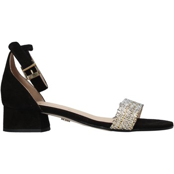 Schuhe Damen Sandalen / Sandaletten Carmens Padova 43117 Schwarz